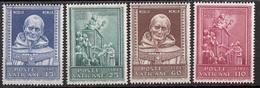 Vaticano 1960 Uf. 271/274 S. Antonino Vescovo Firenze Teologo MNH Ful Set - Theologen