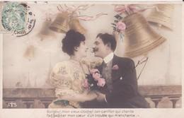CP -  Bonjour Mon Vieux Clocher, Le Carillon Qui Chante..... - Couples