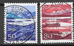 Schweiz Mi. Nr.: 1459 - 60  Vollstempel (szv90er) - Schweiz