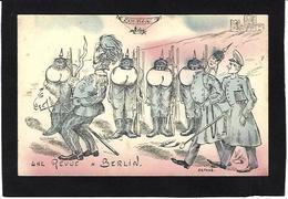 CPA Zeppelin Anti KAISER Germany Satirique Caricature Non Circulé Scatologie - War 1914-18