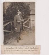 PREFECTURE DE POLICE AUTORISER LES GARÇONS DE RECETTE REVOLVER  18*13CM Maurice-Louis BRANGER PARÍS (1874-1950) - Profesiones