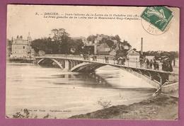 Cpa  Decize Inondations De La Loire Du 18 Octobre 1907 Le Bras Gauche De La Loire Sur Le Boulevard Guy Coquille - Decize