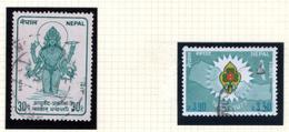 1977 - NEPAL  -  Mi. Nr.  351/52 - USED - (CW4755.46) - Nepal