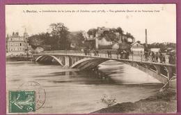 Cpa  Decize Inondations De La Loire Du 18 Octobre 1907 Vue Générale Ouest Et Du Nouveau Pont - Decize
