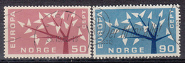 NOORWEGEN - Michel - 1962 - Nr 476/77 - Gest/Obl/Us - Oblitérés
