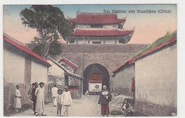 Kiautschou - Das Stadttor - Evang. Mission Berlin      (190723) - China