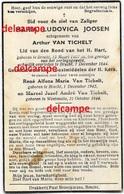 Oorlog Guerre Joosen Van Tichelt Brecht Gesneuveld Bombardement  V Bommen December 1944 Westmalle - Images Religieuses