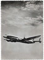 Dans Le Ciel De France Avion Super Constellation Compagnie AIr France (2 Scans) - 1946-....: Ere Moderne