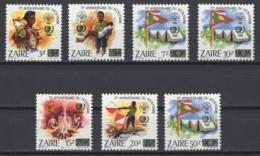 1985. République Du Zaïre. COB N° 1293/99 **, MNH.  Cote COB 2018 : 19 € - Zaire