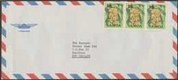 SAMOA - NEW ZEALAND 1987 COMMERCIAL AIRMAIL COVER - Samoa