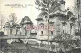 CPA Blerancourt (Aisne) Le Chateau Le Pont Et Les Fosses - France
