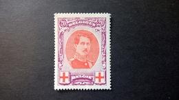 134A ** (1915) Vendu à 15% De La Valeur Catalogue - 1914-1915 Croix-Rouge