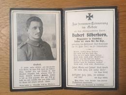 Sterbebild Wk1 Bidprentje Ww1 Avis Décès Deathcard RIR19 Februar 1917 Aus Landshut - 1914-18