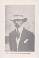 France  120  Santos-Dumont's Demoiselle,Black And White  AC Post Card - Dirigibili