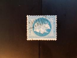 N°29, 20 Cts Bleu, GC 2398, Mondragon, Vaucluse. - 1849-1876: Classic Period