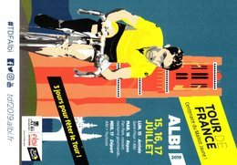 Cyclisme  - Tour De France Cycliste Albi 2019 - Cycling - Vélo Centenaire Du Maillot Jaune - Merckx - Cycling