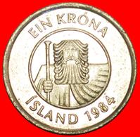 + GREAT BRITAIN FISH (1981-1987): ICELAND ★ 1 KRONE 1984! LOW START ★ NO RESERVE! - Islandia