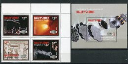 "Tonga - Block Nr. ? Und Satz Mi.Nr. ? - ""Komet Halley"" ** / MNH (aus Dem Jahr 2017) - Tonga (1970-...)"