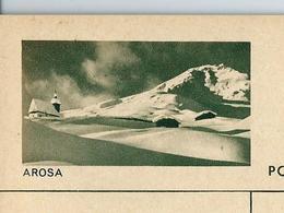 Carte Illustré Neuve N° 182 - 026  D   AROSA (Zumstein 2009) - Ganzsachen