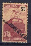 FRANCE (  COLIS POSTAUX ) : Y&T N°  230B  TIMBRE  OBLITERE  . - Spoorwegzegels