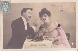 CP - JOYEUX REVEILLON - Couples