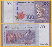 Malaysia 100 Ringgit P-56b 2012 UNC Banknote - Malasia