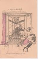 France Le Santos Dumont Postcard By G.Mouton Illustrated Postcard, - Airships
