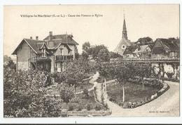 CPA [28] Eure Et Loir - Villiers Le Morhier - Cense Des Pinsons Et Église - Other Municipalities