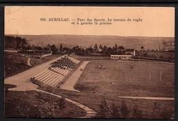 Aurillac - Parc Des Sports . Le Terrain De Rugby Et à Gauche La Picine - Aurillac