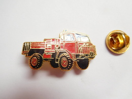 Beau Pin's En EGF ,  Camion Sapeurs Pompiers , Signé Tablo Paris - Bomberos