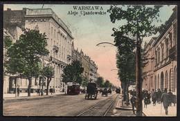 WARSZAWA . Aleje Ujazdowskie - Poland