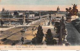 75-PARIS PONT ALEXANDRE III-N°2246-H/0207 - Frankrijk