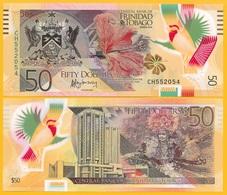 Trinidad & Tobago 50 Dollars P-59 2015 UNC Polymer - Trinidad En Tobago