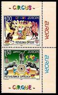 Europa - CEPT 2002 - Bosnie Serbe - Yvert Nr. 226/227 - Michel  Nr. 241/242 D  ** - 2002