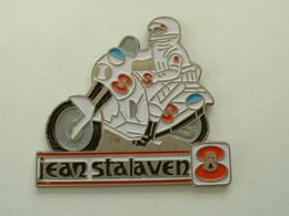 PIN'S MOTO - JEAN STALAVEN - Motos