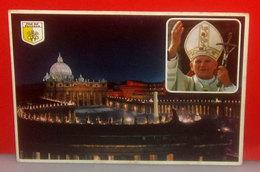 Papa Giovanni Paolo II  - Città Del Vaticano S. Pietro Cartolina 1983 - Popes