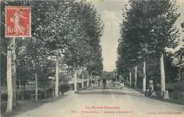 CPA 31 Haute Garonne Pinsaguel Avenue D'Auterive - Francia