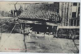 CPA -  Waschhaus An Der Suippe  -  Allemande Feldpostkarte  (1914-1918) - Weltkrieg 1914-18