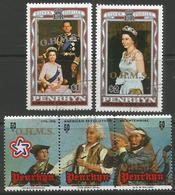 Penrhyn Island - 1978 Officials CTO  SG D13-5 - Penrhyn