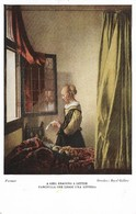 Vermeer A Girl Reading A Letter (2 Scans) - Malerei & Gemälde