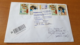 2017-Raccomandata (fumetto) - 2011-...: Poststempel