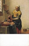 Jan Vermeer Van Delft Die Kuchenmaid (2 Scans) - Pintura & Cuadros