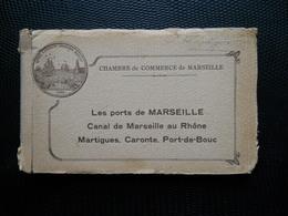 Marseille ,carnet 24 Cp + Plan ,chambre De Commece De Marseille - Marseille