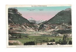 CPMJ1689 LES ALPES PITTORESQUES LUS LA CROIX HAUTE (DROME) LE MONT FERRAND ET LES GORGES DE VALLAURIS (ALT.2750 M) - France