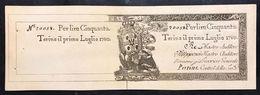 50 Lire REGIE FINANZE 01 07 1780 NON EMESSO R2 RR Q.FDS Lotto.115 - [ 1] …-1946 : Royaume