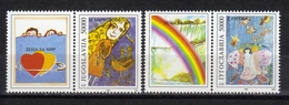 Yugoslavia,Children For Piece 1993.,vignette-stamp,MNH - 1992-2003 Federal Republic Of Yugoslavia
