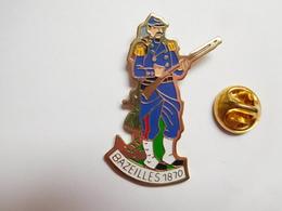 Beau Pin's , Armée Militaire ,  Bataille De Bazeilles 1870 , Guerre France - Prusse - Militares