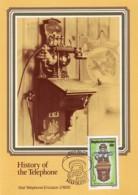 Bophuthatswana - Maximum Card Of 1983 - MiNr. 111 - History Of The Telephone - Ericsson-Wall Phone - Bophuthatswana