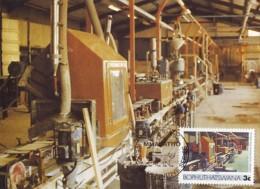 Bophuthatswana - Maximum Card Of 1985 - MiNr. 150 - Industries - Ceramic Tiles Production Line - Bophuthatswana
