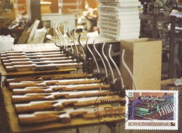 Bophuthatswana - Maximum Card Of 1985 - MiNr. 152 - Industries - Manufacturing Crossbows - Bophuthatswana